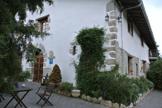 Natxiondo Hotel Rural: Hoteleingang