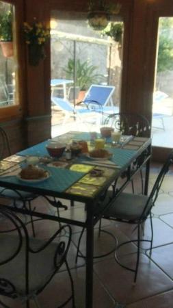 Villa Adriana Guesthouse Sorrento: Veranda 