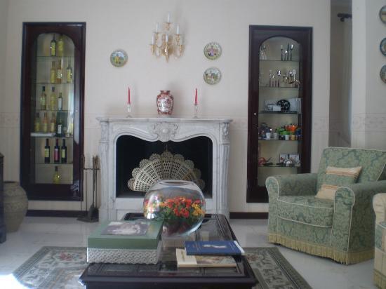 Villa Adriana Guesthouse Sorrento: Camino soggiorno