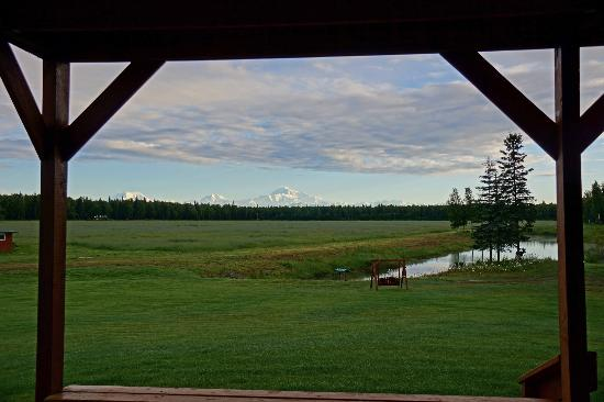 McKinley View B&B: View from the Lower deck