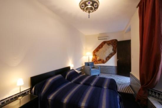 Riad Misbah : Sahara room