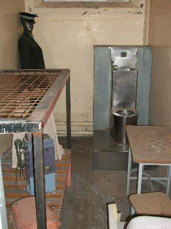 Jailhouse Accommodation: The original set up of the prison