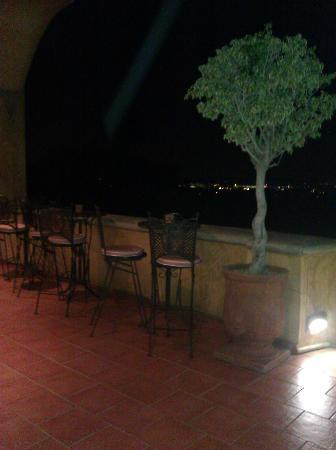 Castello di Monte: outside- overlooking the courtyard