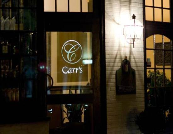 Carr's Restaurant : Entrance from Carr's website