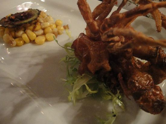 Jaa Kitchen: Myanmar soft shell crab