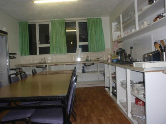 Campbell's Holiday Hostel : the Kitchen and Lounge