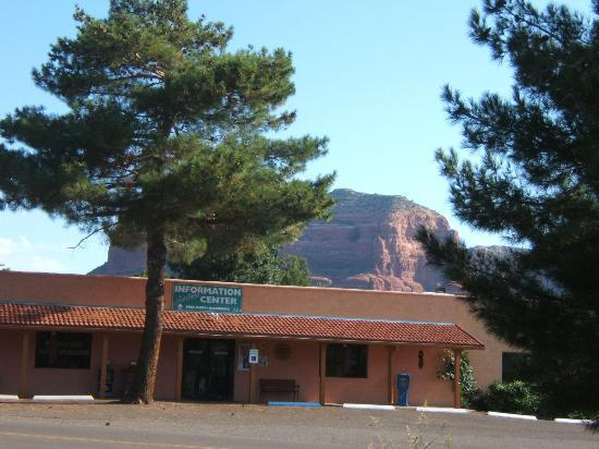 The Views Inn Sedona: opened our door to see this!