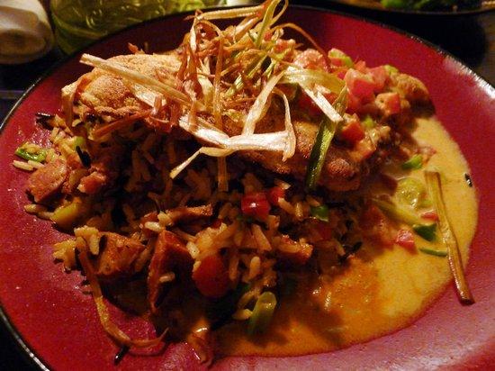 Catfish Max: Catfish cooked cajun style!