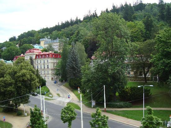 Hotel Cristal Palace: Zimmeraussicht Straßenseite