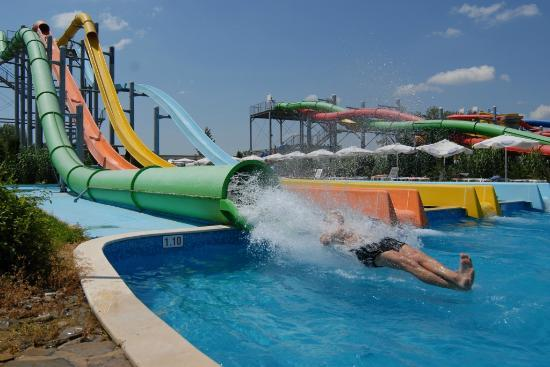 Extreme Slides Picture Of Aqua Nevis Clubhotel Sunny