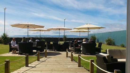 The Waterside Restaurant: Looking out to Arran