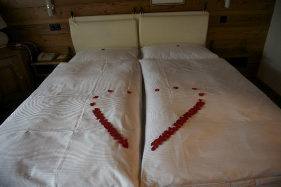 Europe Hotel & Spa : Honeymoon Decor