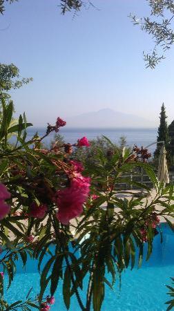 International Camping Nube d'Argento: Vista dalla terrazza del ristorante