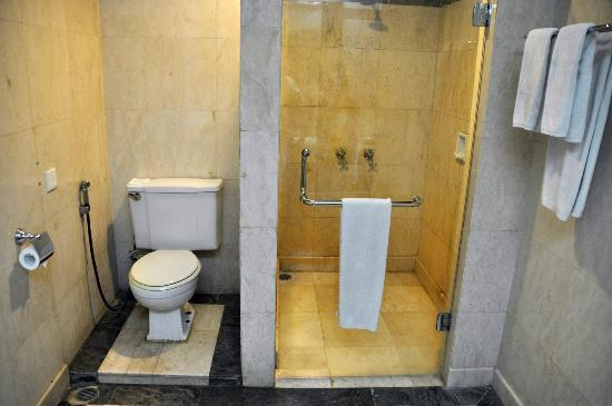 Hotel Makassar Golden: Bathroom