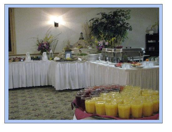 ShoreWay Acres Inn: Complimentary Full Hot Breakfast Buffet Daily