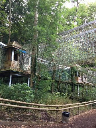 Woodlands Camping and Caravan Park: ninja towers which is open after the park closed