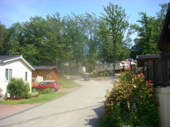 Beauport Holiday Park - Park Holidays UK: outside lodge