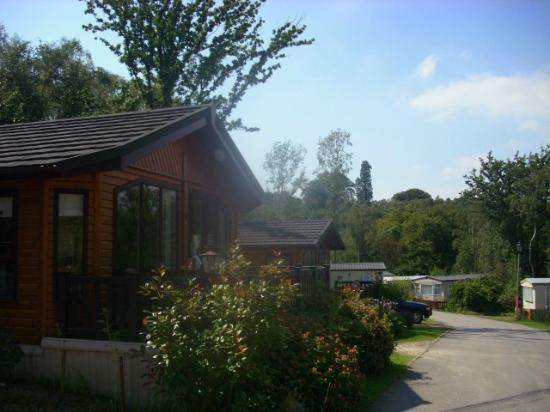 Beauport Holiday Park - Park Holidays UK : front of the lodge