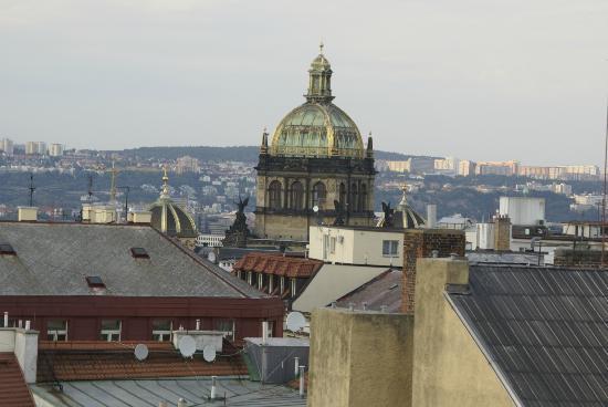 Ankora: zicht vanaf het dakterras