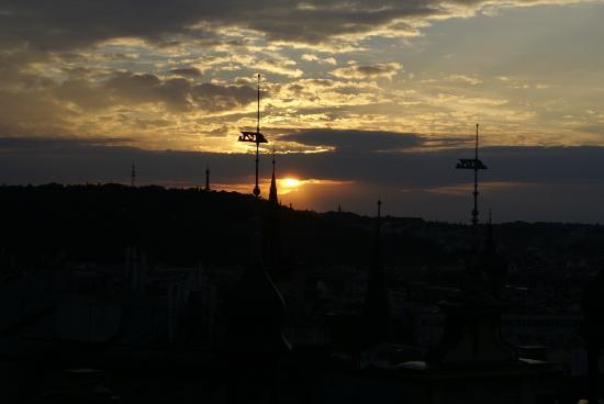 Ankora: vanaf het dakterras genomen
