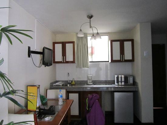 Peru Star Botique Apartments Hotel: La cucina