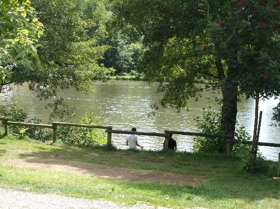 Saint-Leger-de-Fougeret, França: Carpodrome et baignade