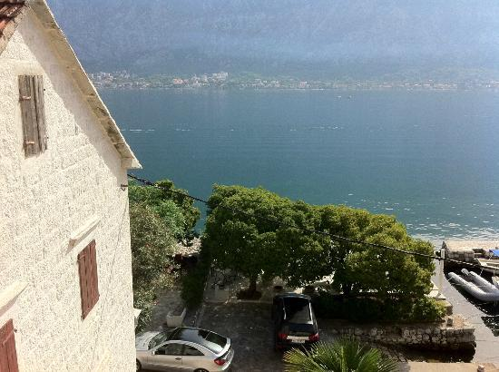 Art Hotel Galathea: View from our room (family suite)