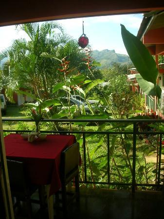 Hotel Santa Fe: On the dinning area