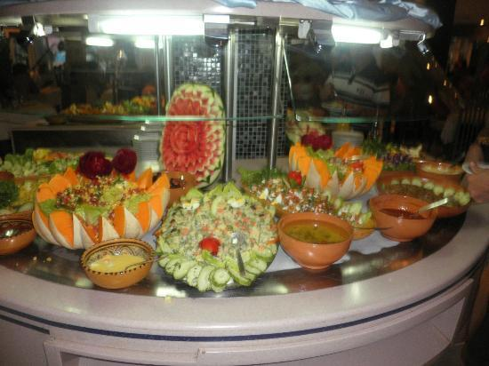 Houda Yasmine Hammamet : salades