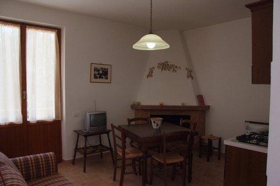 Residenza Ca' San Marco: interno con camino