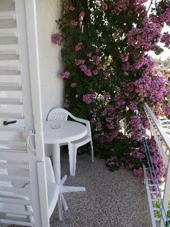 Batosic Bed and Breakfast: Balconcino della mia camera