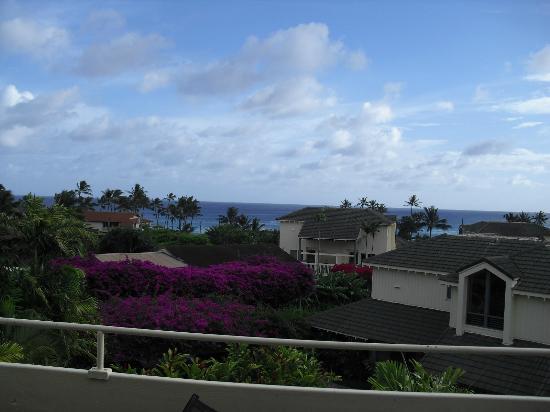 Aston at Poipu Kai: View from balcony