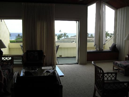 Aston at Poipu Kai: View from spacious living/dining room