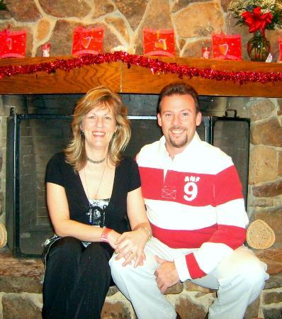 YMCA Trout Lodge: Me and Hubby celebrating Valentines day at the Trout Lodge