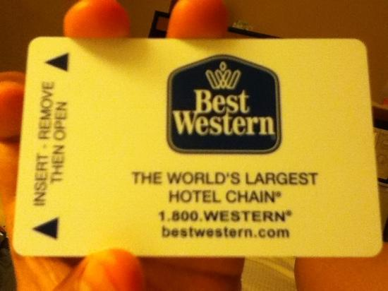 BEST WESTERN Tampa: card