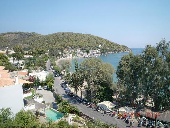 New Aegli Resort Hotel: View over Askeli
