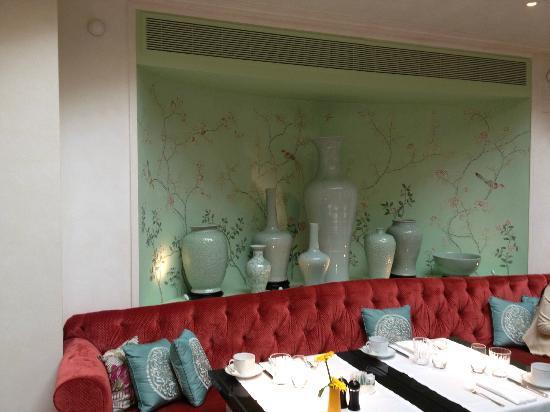 โรงแรมแชงกรี-ลา ปารีส: restaurant