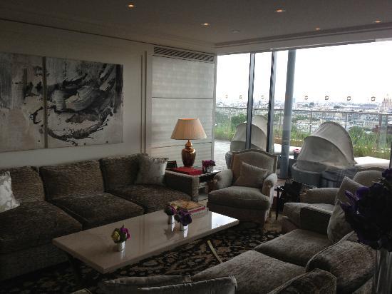 Shangri-La Hotel Paris: suite Shangri-La