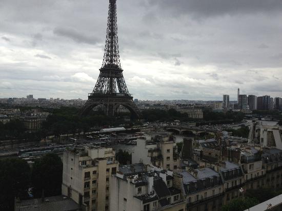 Shangri-La Hotel Paris: suite Shangrila vue