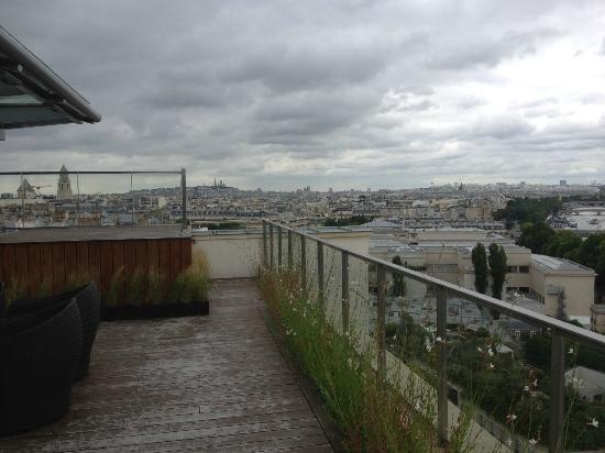Shangri-La Hotel Paris: Terrasse suite Shangri-La