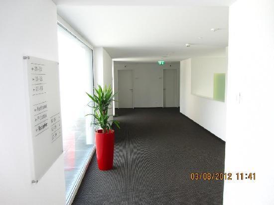 Best Western Hotel Rebstock : Eingangsbereich Erweiterungsbau