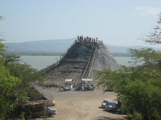 Mud Volcano and Scenic Drive