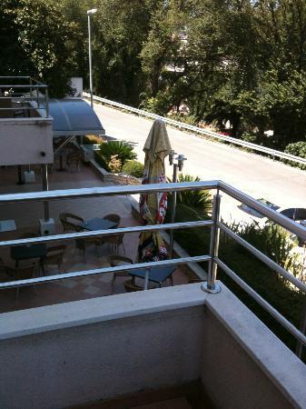 Hotel Ivka: balcony