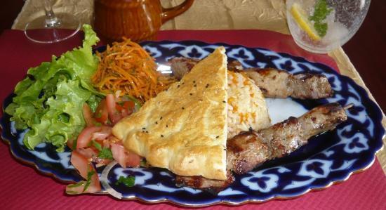 Les saveurs de Samarkand : Chachlik brochettes d'agenau