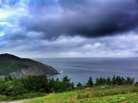 Hines' Ocean View Lodge: the vista from the front door