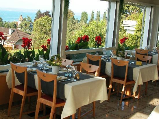 BEST WESTERN Hotel Rebstock: Panoramarestaurant