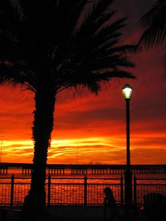 Four Points By Sheraton Punta Gorda Harborside: Beautiful sunsets from the hotel