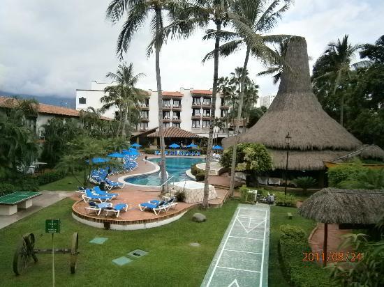 Hacienda Buenaventura Hotel & Mexican Charm All Inclusive : foto desde el valcon de mi habitacion