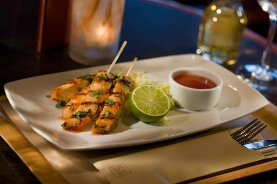 Providence Marriott Downtown: Thai Chicken Skewers - Greatroom Menu