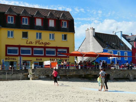 Crozon, Frankreich: Les pieds dans le sable...